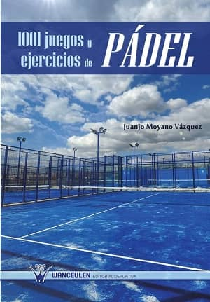 portada del libro 1001 juegos y ejercicios de pádel