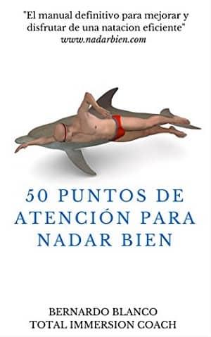 portada del libro 50 puntos de atención para nadar bien