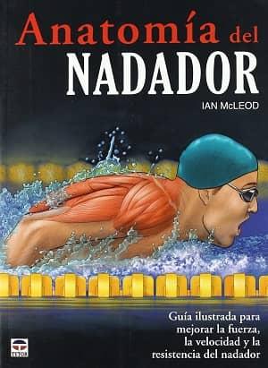 portada del libro anatomía del nadador