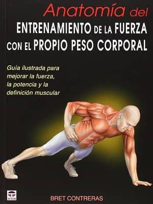 portada del libro anatomía del entrenamiento de la fuerza con el propio peso corporal