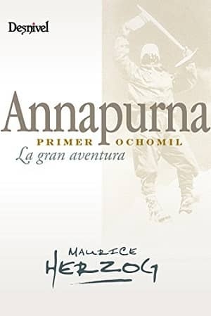 portada del libro annapurna: primer ochomil