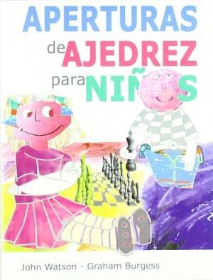 portada del libro aperturas de ajedrez para niños