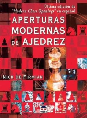 portada del libro aperturas modernas de ajedrez