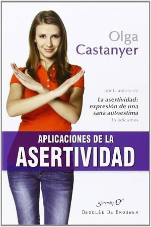 portada del libro aplicaciones de la asertividad