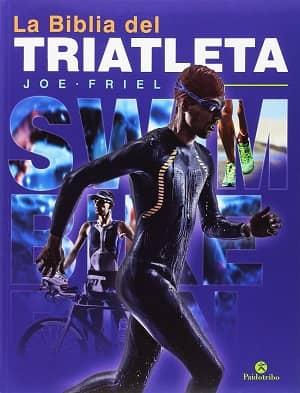 portada del libro la biblia del triatleta