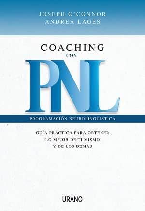 portada del libro coaching con PNL