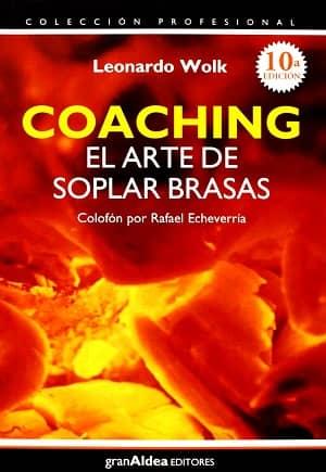 portada del libro coaching: el arte de soplar brasas