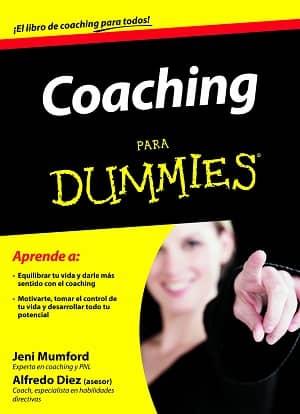 portada del libro coaching para dummies