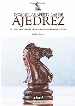 portada del libro domine las aperturas de ajedrez