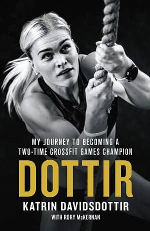 portada del libro dottir my journey to becoming a two-time crossFit games