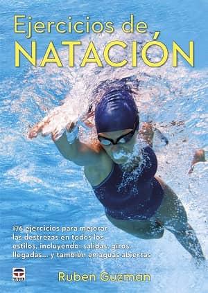 portada del libro ejercicios de natación