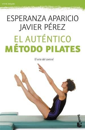 portada del libro el auténtico método pilates