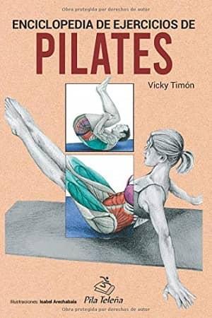 portada del libro enciclopedia de ejercicios de pilates