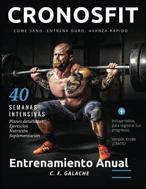 portada del libro entrenamiento anual musculado y definido