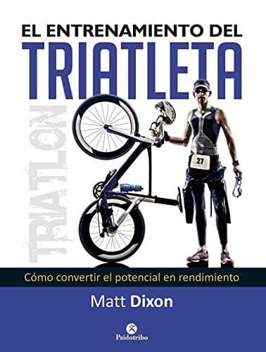 portada del libro el entrenamiento del triatleta