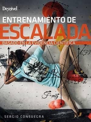 portada del libro entrenamiento de escalada basado en la evidencia científica