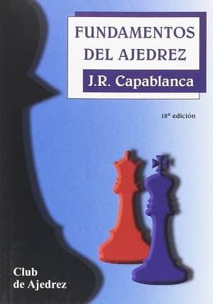 portada del libro fundamentos del ajedrez