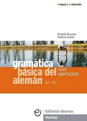 portada del libro gramática básica del alemán