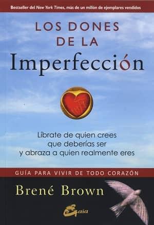 portada del libro los dones de la imperfección