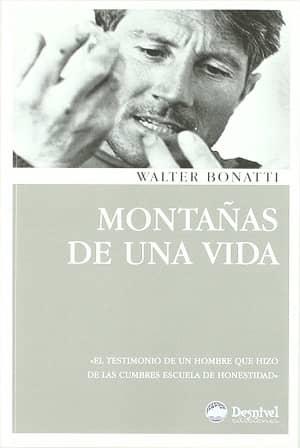 portada del libro montañas de una vida