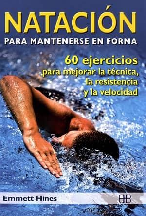 portada del libro natación para mantenerse en forma