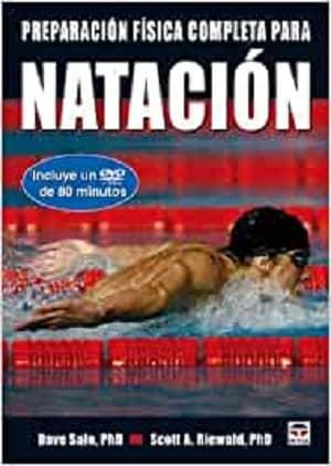 portada del libro preparación física completa para natación