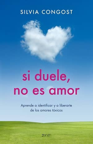 portada del libro si duele no es amor