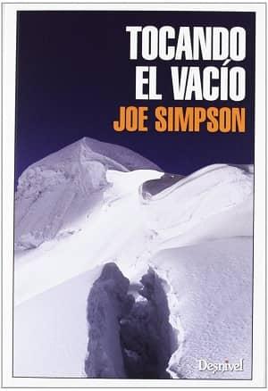 portada del libro tocando el vacío