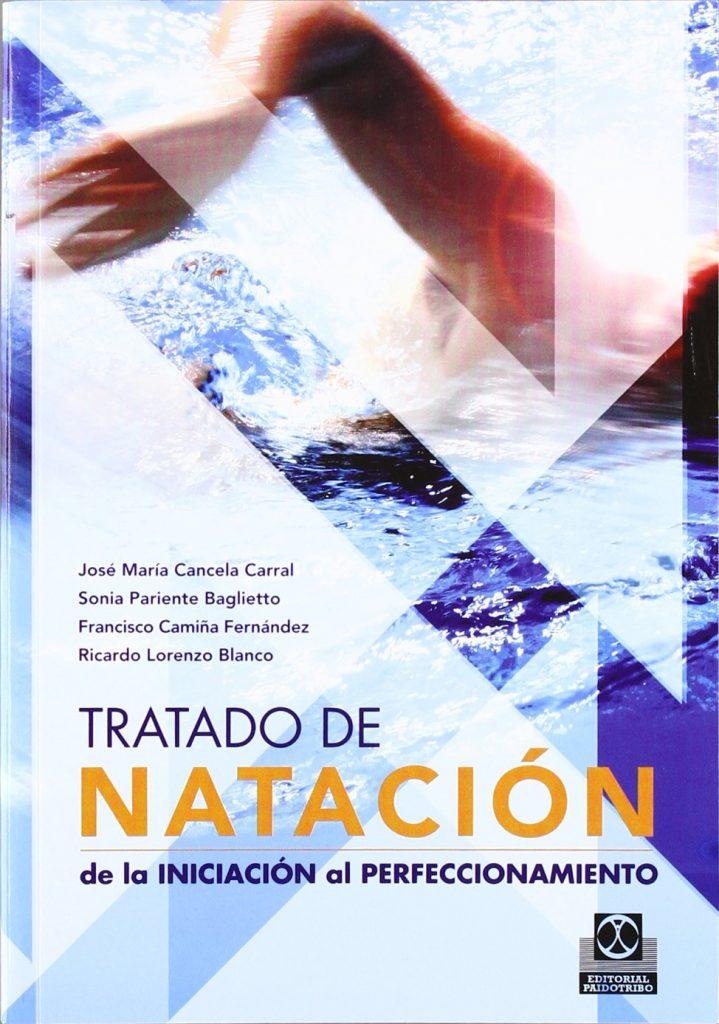 portada del libro tratado de natación