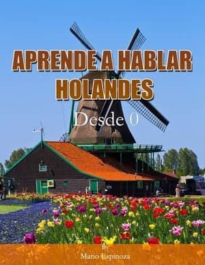 portada del libro aprende a hablar holandés desde cero