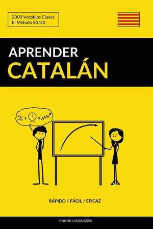 portada del libro aprender catalán rápido fácil eficaz