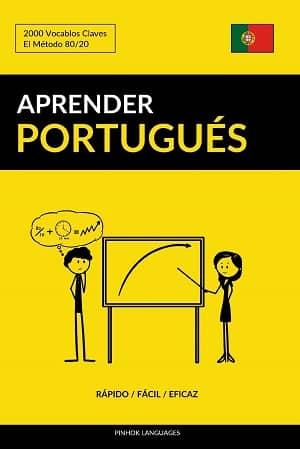 portada del libro aprender portugués