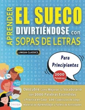 portada del libro aprender sueco divirtiéndose para principiantes