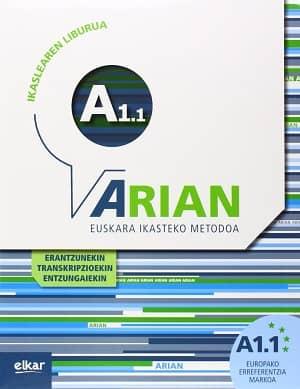 portada del libro Arian A1.1. Ikaslearen liburua