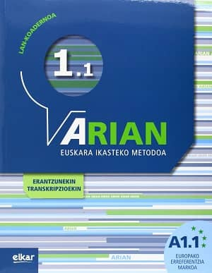 portada del libro Arian A1.1. Lan-koadernoa
