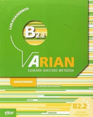 portada del libro arian B2.2 lan-koadernoa