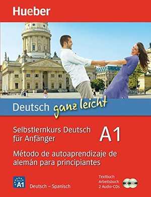portada del libro DEUTSCH GANZ LEICHT - A1