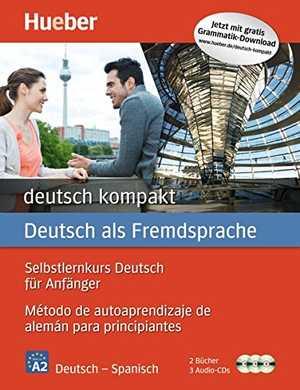 portada del libro DEUTSCH KOMPAKT - A1-A2