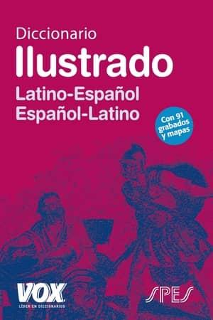 portada del libro diccionario ilustrado Latino Español