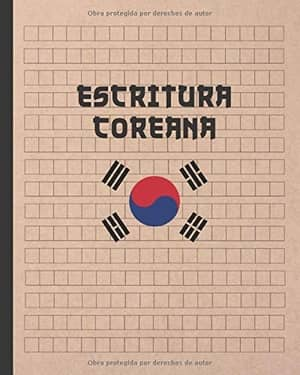 portada del libro escritura coreana