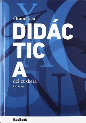 portada del libro gramática didáctica del euskera