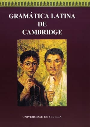 portada del libro gramática latina de Cambridge