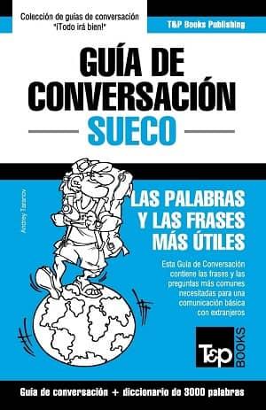 portada del libro guía de conversación de sueco