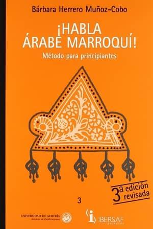 portada del libro habla árabe marroquí
