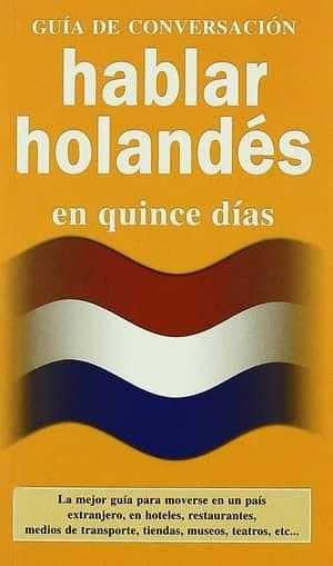 portada del libro hablar holandés en quince días
