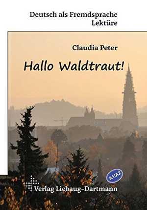 portada del libro hallo waldtraut