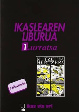 portada del libro hitzetik hortzera 1.urratsa ikaslearen liburua