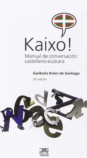 portada del libro kaixo! manual de conversación castellano-euskera