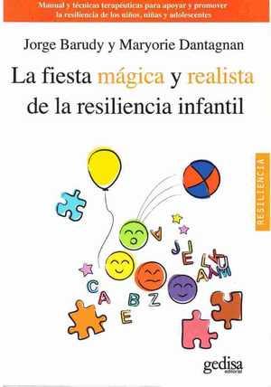 portada del libro la fiesta mágica y realista de la resiliencia infantil