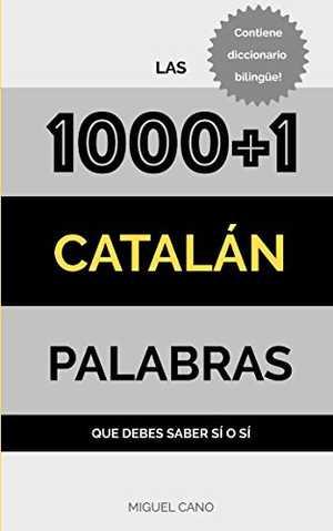portada del libro catalán las 1000 + 1 palabras